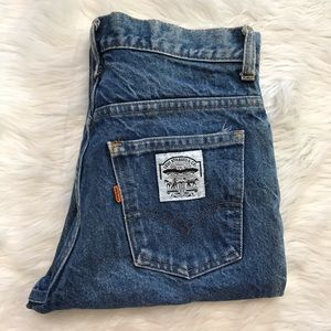 Vintage High Waist Levi's Orange Tab Wedgie Jeans